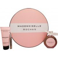 Rochas Mademoiselle Rochas Gift Set 90ml EDP + 100ml Body Lotion + 7.5ml EDP