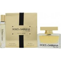 Dolce & Gabbana The One Gift Set 75ml EDP + 7.4ml Rollerball EDP