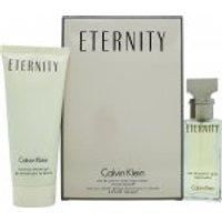 Calvin Klein Eternity Gift Set 30ml EDP + 100ml Shower Gel