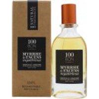 100BON Myrrhe & Encens Mystérieux Refillable Eau de Parfum Concentrate 50ml Spray