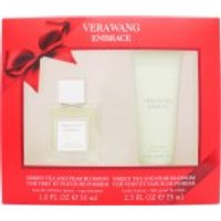 Vera Wang Embrace Green Tea and Pear Eau de Toilette Fragrance for women 30ml and Body Lotion 75ml Gift Set