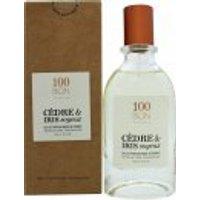 100BON Cèdre & Iris Soyeux Refillable Eau de Parfum 50ml Spray