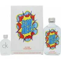 Calvin Klein CK Gift Set 100ml CK One Summer 2019 EDT + CK ONE 15ml EDT