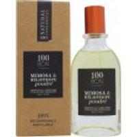 100BON Mimosa & Héliotrope Poudré Refillable Eau de Parfum Concentrate 50ml Spray