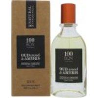 100BON Oud Wood & Amyris Refillable Eau de Parfum Concentrate 50ml Spray