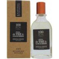 100BON Eau de Thé et Gingembre Refillable Eau de Parfum Concentrate 50ml Spray