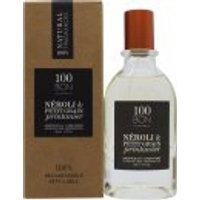 100BOn Néroli & Petit Grain Printanier Refillable Eau de Parfum Concetrate 50ml Spray