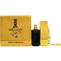 Paco Rabanne 1 Million Gift Set 10ml EDT Travel Spray + 10ml EDT Refill