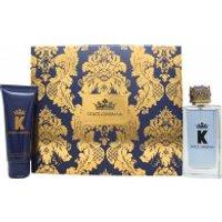 Dolce & Gabbana K Gift Set 100ml EDT + 75ml Aftershave Balm