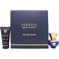Versace Pour Femme Dylan Blue Gift Set 30ml EDP + 50ml Body Lotion