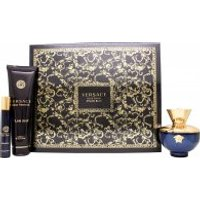 Versace Pour Femme Dylan Blue Gift Set 100ml EDP + 10ml EDP + 150ml Body Lotion