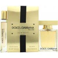 Dolce & Gabbana The One Gift Set 50ml EDT + 7.4ml Rollerball