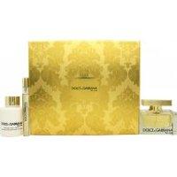 Dolce & Gabbana The One Gift Set 75ml EDP + 100ml Body Lotion + 10ml EDP