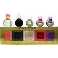 Bvlgari Women's Miniature Fragrance Gift Set 5 Pieces