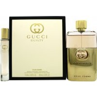 Gucci Guilty for women Gift Set 90ml EDP + 7.4ml Rollerball