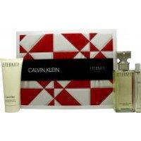 Calvin Klein Eternity Gift Set 100ml EDP + 100ml Body Lotion + 10ml EDP