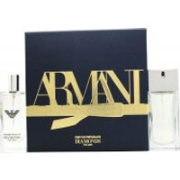 Image of Emporio Armani Diamonds Gift Set 50ml EDT + 15ml EDT Spray