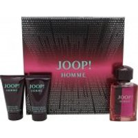 Joop! Homme Gift Set 75ml EDT + 50ml Shower Gel + 50ml Aftershave Balm