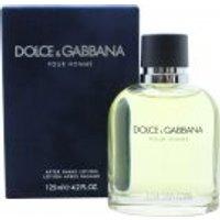 Image of Dolce & Gabbana Pour Homme Aftershave Splash 125ml