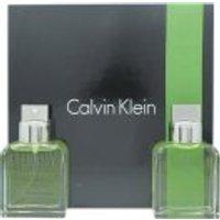 Calvin Klein Eternity Gift Set 100ml EDT + 100ml Aftershave Splash