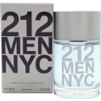 Carolina Herrera 212 Men Aftershave 100ml Splash