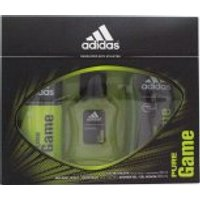 Adidas Pure Game Gift Set 50ml EDT + 150ml Body Spray + 250ml Shower Gel