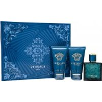 Versace Eros Gift Set 50ml EDT + 50ml Aftershave Balm + 50ml Shower Gel