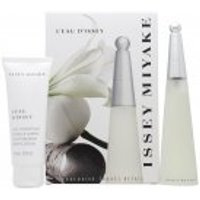 Issey Miyake L'eau d'Issey Gift Set 50ml EDT + 75ml Body Lotion