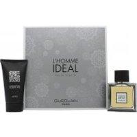 Guerlain L'Homme Ideal Gift Set 50ml EDT Spray + 75ml Shower Gel