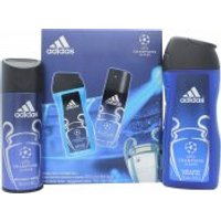 Adidas UEFA Champions League Edition Gift Set 150ml Body Spray + 250ml Shower Gel