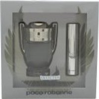 Paco Rabanne Invictus Gift Set 50ml EDT + 10ml EDT Travel Spray