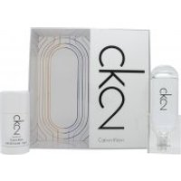Calvin Klein CK2 Gift Set 100ml EDT + 75ml Deodorant Stick