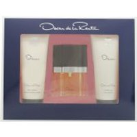 Oscar De La Renta Oscar Gift Set 30ml EDT + 100ml Shower Gel + 100ml Body Lotion