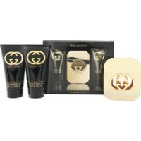 Gucci Guilty for women Gift Set 50ml EDT + 50ml Body Lotion + 50ml Shower Gel - Travel Collection