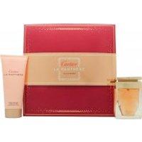 Cartier La Panthere Gift Set 50ml EDP + 100ml Body Lotion