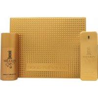 Paco Rabanne 1 Million Gift Set 100ml EDT + 150ml Deo Spray