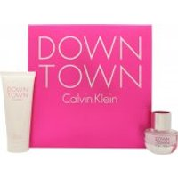 Calvin Klein Downtown Gift Set 30ml EDP + 100ml Shower Gel