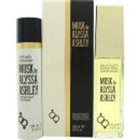 Alyssa Ashley Musk Gift Set 100ml EDT + 100ml Perfumed Deodorant Spray