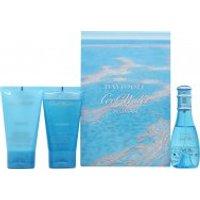 Davidoff Cool Water Woman Gift Set 30ml EDT + 50ml Body Lotion + 50ml Shower Gel