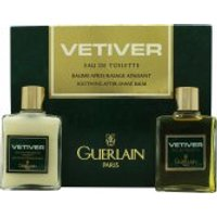 Guerlain Vetiver Gift Set 30ml EDT + 30ml Aftershave Balm