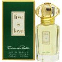 Oscar De La Renta Live in Love EDP 30ml Spray