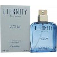 Calvin Klein Eternity Aqua EDT 200ml Spray