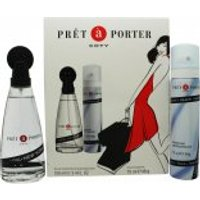 Coty Pret a Porter Gift Set 100ml EDT + 75ml Deodorant Spray