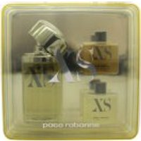 Paco Rabanne XS Excess Pour Homme Gift Set 100ml EDT + 50ml Shower Gel + 50ml Aftershave Gel