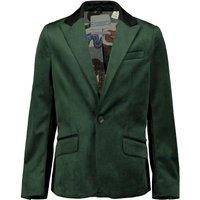 Scotch & soda colbert voor jongens in de kleur groen. deze mooie colbert is gemaakt van polyester met ...