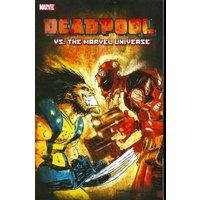 Image of Deadpool vs. the Marvel universe - Fabian Nicieza