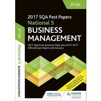 Image of National 5 Business Management 2017-18 by Sqa Book Used