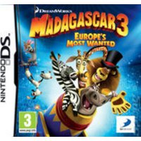 Image of Madagascar 3 Europes Most Wanted Used Nintendo DS Game