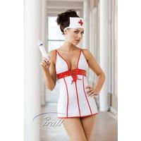 Hot Nurse Kostüm mit Haube