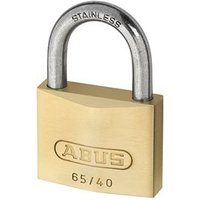 65IB/40 40mm Brass Padlock Stainless Steel Shackle Keyed 6405